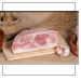 Cooked cured shoulder of pork -